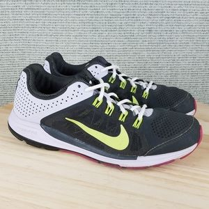 Nike Zoom Elite 6 Running Shoes Lace Up Sneakers